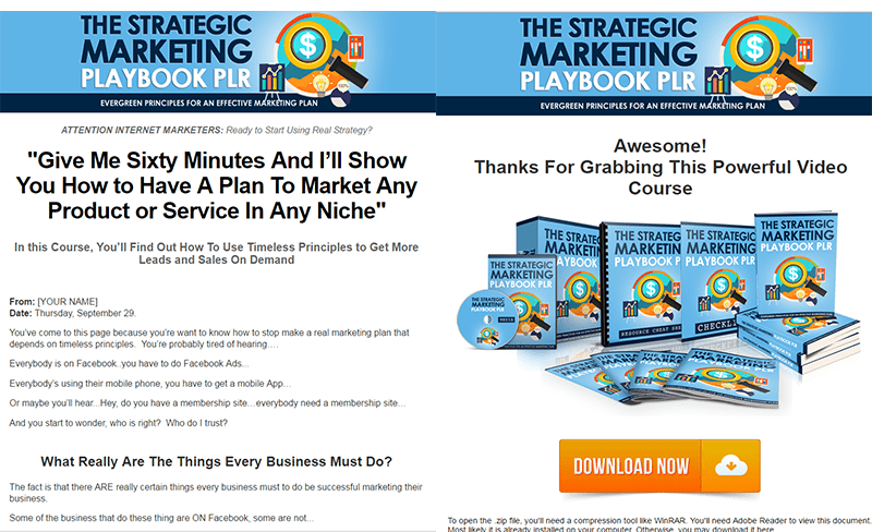 the strategic marketing playbook plr the plr show with charles