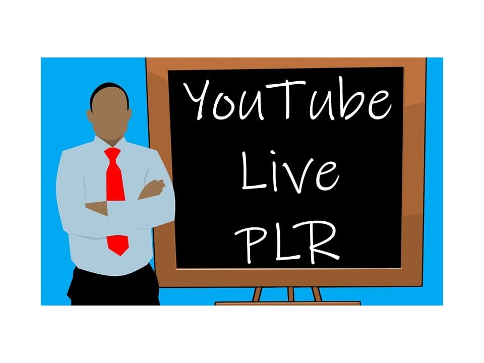 How to Sell YouTube Live PLR